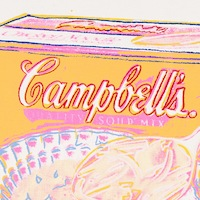 Campbell's Soup Box: Chicken Noodle